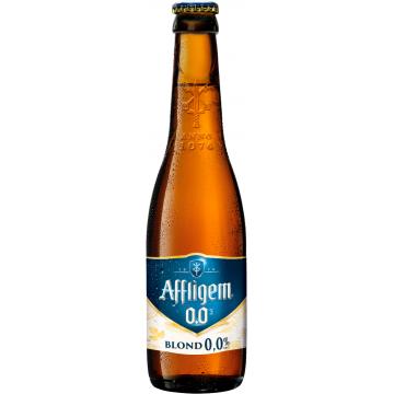Affligem Blond 0.0% Fles 33 Cl.