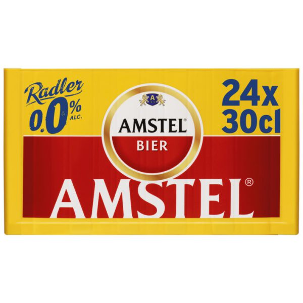 Amstel Radler 0.0 Krat 24 X 30 Cl.