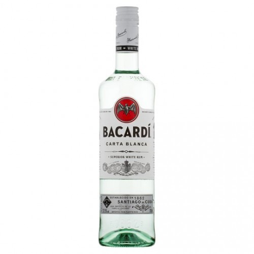 Bacardi Carta Blanca Rum 1 Liter