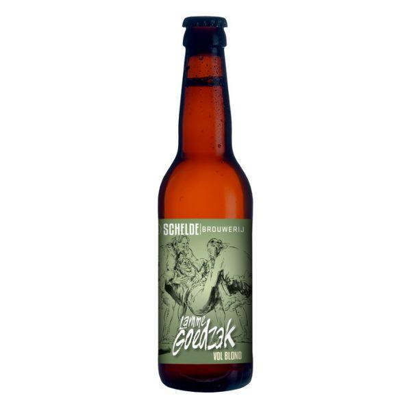 Brouwerij Schelde Lamme Goedzak Blond Fles 33 Cl.