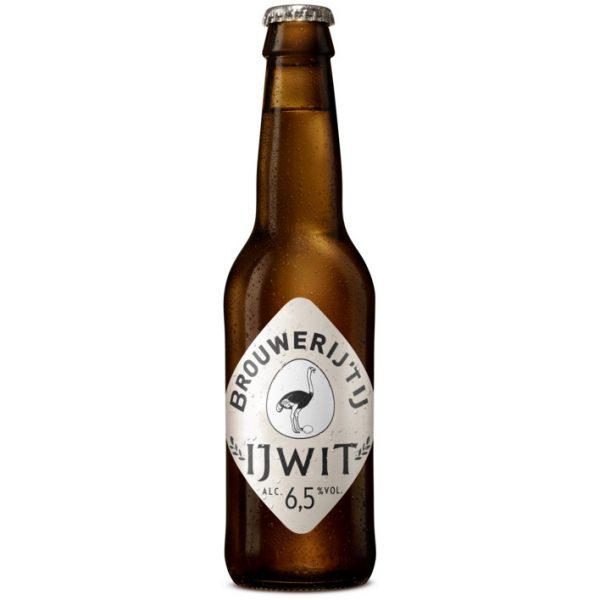 Brouwerij 'T IJ IJWit Fles 33 Cl.