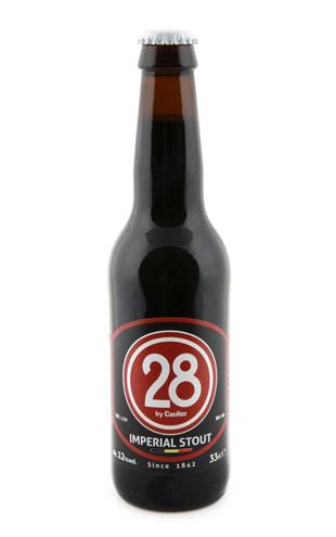 Caulier 28 Imperial Stout Fles 33 Cl.
