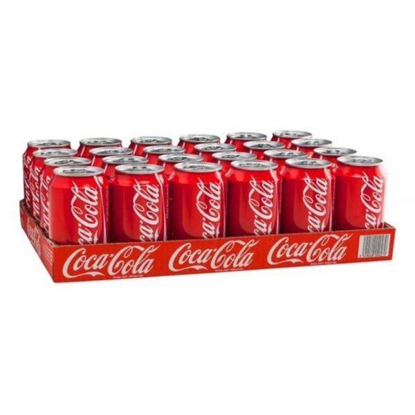 Coca Cola Blik 24 X 33 Cl.