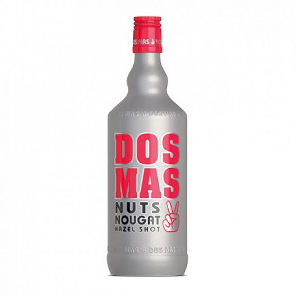 Dos Mas Nasty Nuts Hazel Nougat Fles 70 Cl.