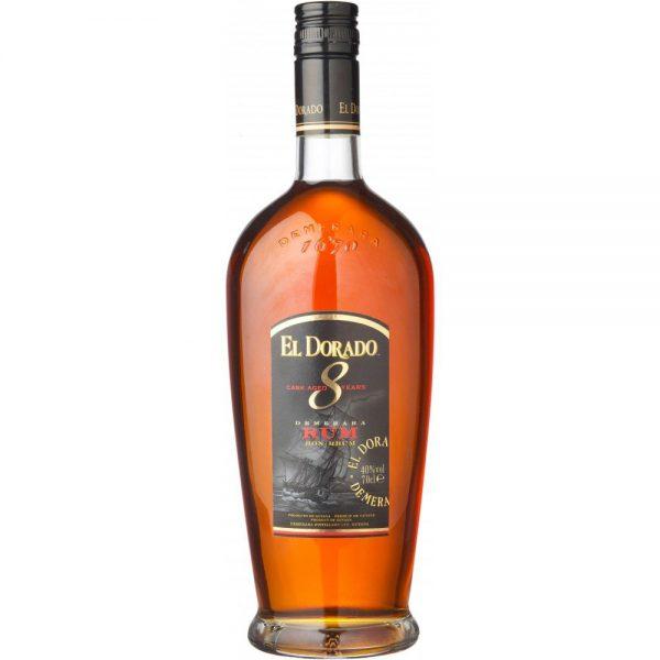 El Dorado Rum 8YO Cask Aged 70 Cl.