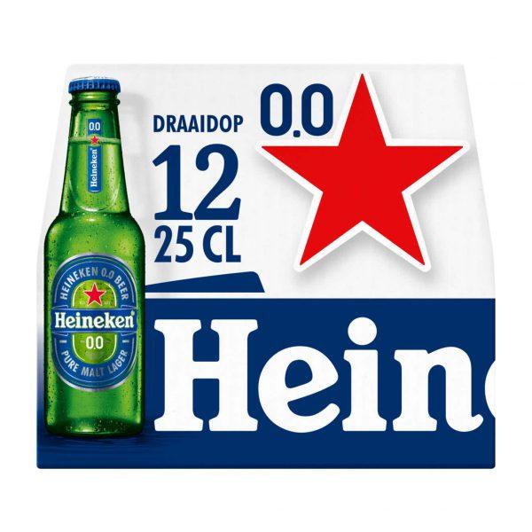 Heineken 0.0 Mono-pack 24 X 25 Cl.