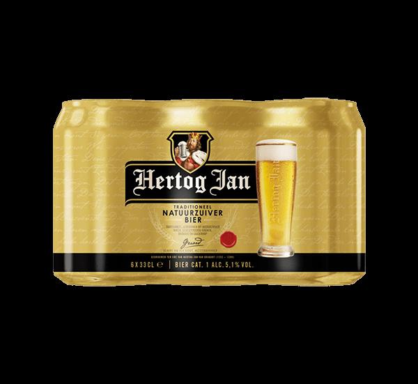 Hertog Jan Blik 6 X 33 Cl.