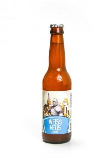 Brouwerij Het Platte Harnas Weiss Neus Witbier Fles 33 Cl.