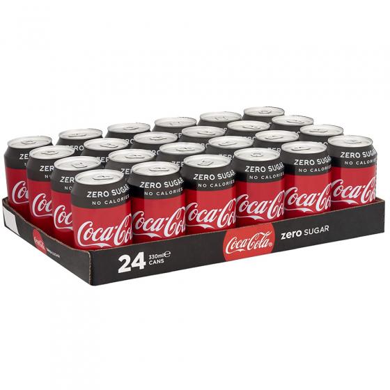 Coca Cola Zero Blik 24 X 33 Cl.