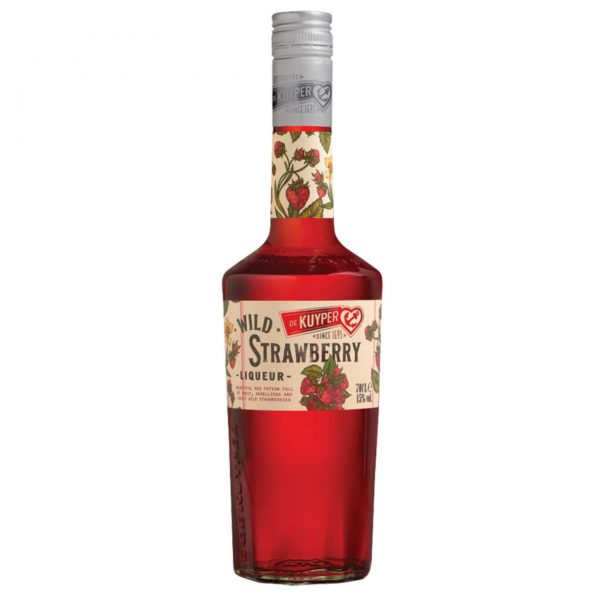 De Kuyper Wild Strawberry Fles 70 Cl.