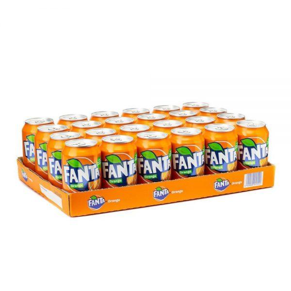 Fanta Orange Blik 24 X 33 Cl.
