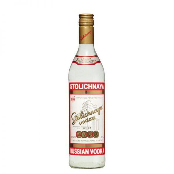 Stolichnaya Vodka Fles 100 Cl.