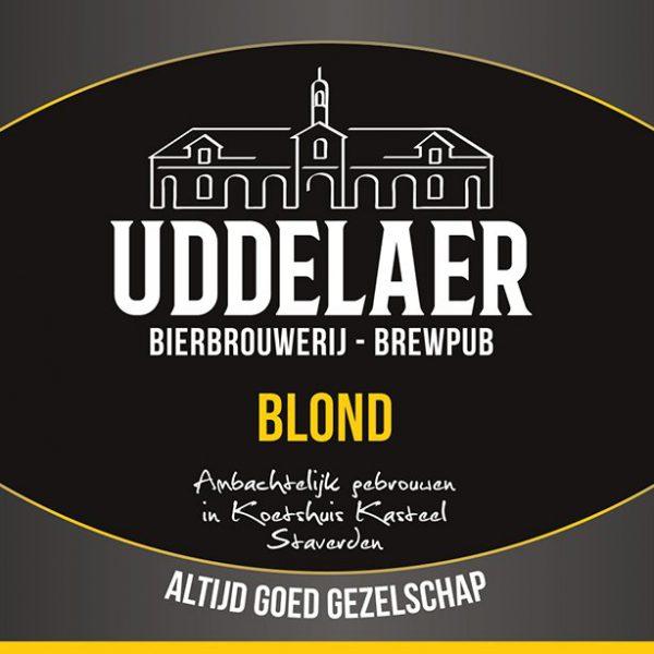 Uddelaer Blond Fles 33 Cl.