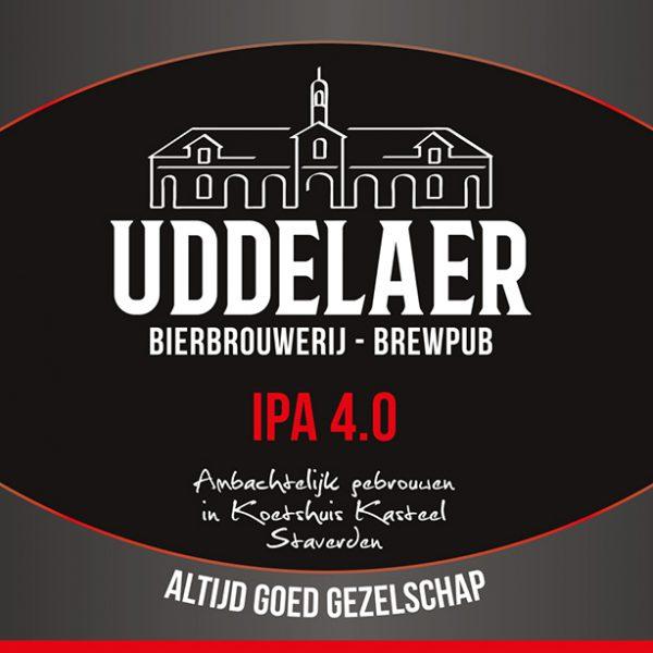 Uddelaer IPA Fles 33 Cl.