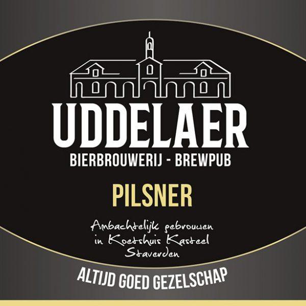 Uddelaer Pilsener Fles 33 Cl.