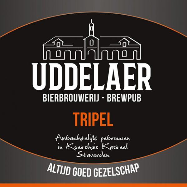 Uddelaer Tripel Fles 33 Cl.