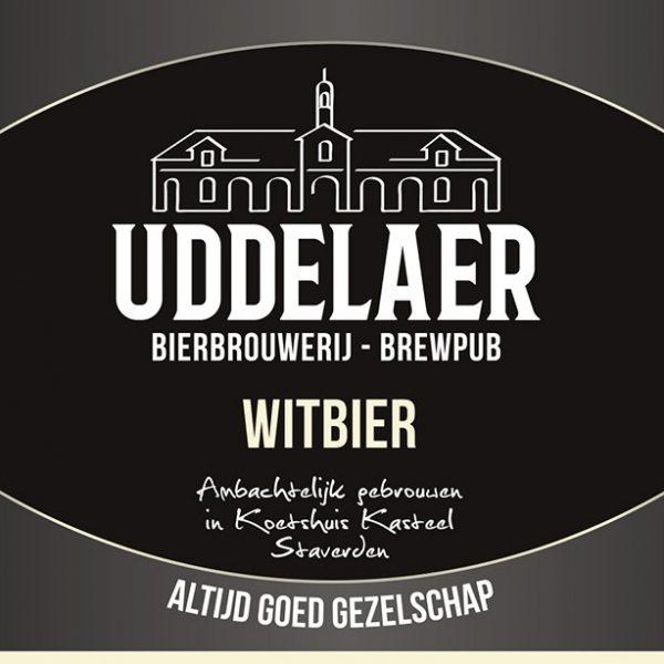 Uddelaer Witbier Fles 33 Cl.