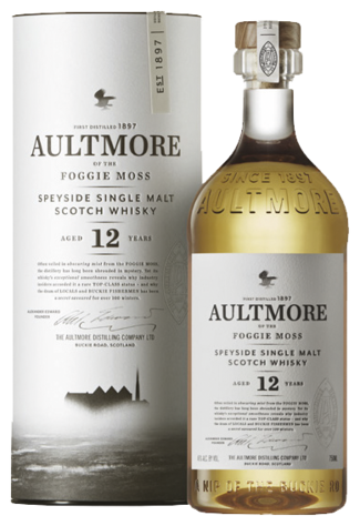 Aultmore 12 Years Speyside Single Malt Scotch Whisky Fles 70 Cl.