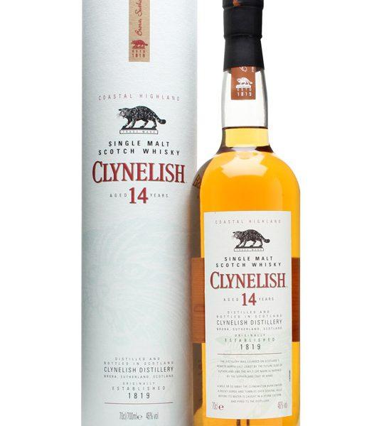 Clynelish 14 Years Single Malt Fles 70 Cl.