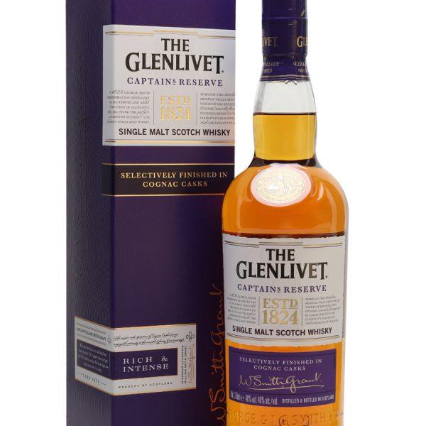 The Glenlivit Captain's Reserve Single Malt Whisky