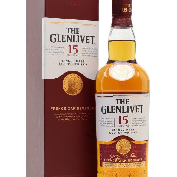 The Glenlivit 15YO 70 Cl.