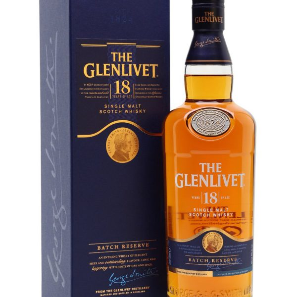 The Glenlivit 18YO 70 Cl.