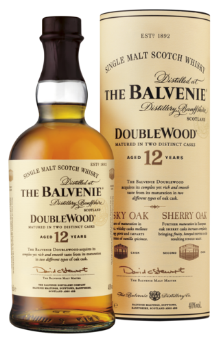 The Balvenie Double Wood 12 Years Speyside Fles 70 Cl.