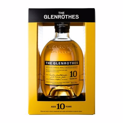 The Glenrothes 10 Years Single Malt Whisky Fles 70 Cl.