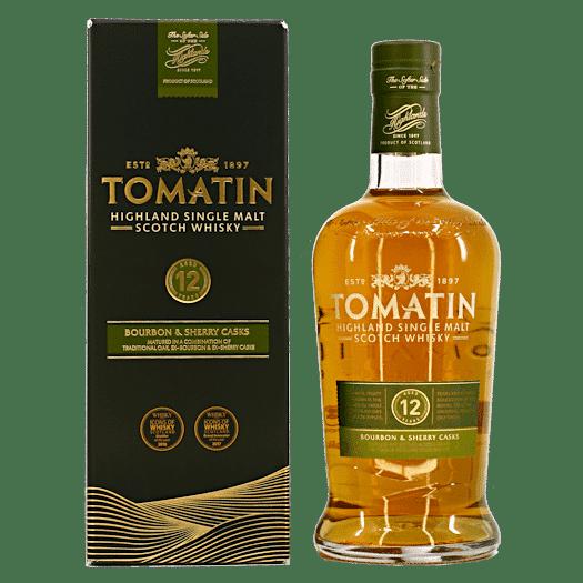 Tomatin 12 Years Highland Single Malt Scotch Whisky Fles 70 Cl.