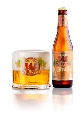 Wilderen Kanunnik Goud Fles 33 Cl.