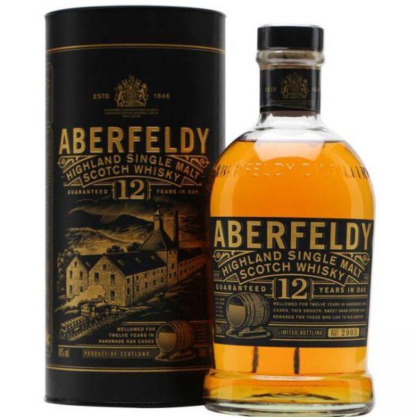 Aberfeldy 12 Years Highland Malt Fles 70 Cl.