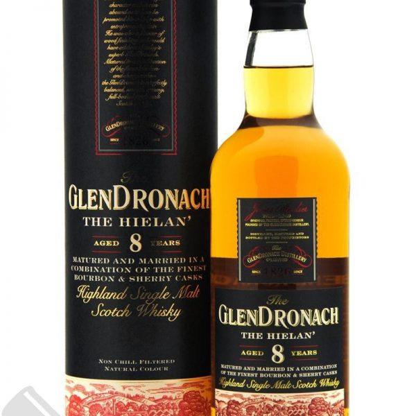 The Glendronach 8 Years Highland Single Malt Scotch Whisky Fles 70 Cl.