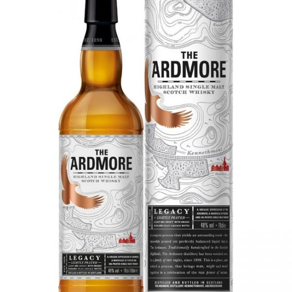 The Ardmore Legacy Highland Single Malt Scotch Whisky Fles 70 Cl.