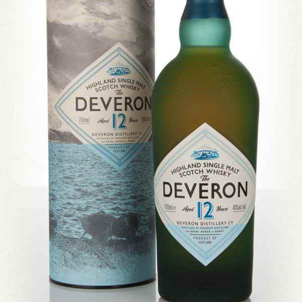 The Deveron 12 Years Highland Single Malt Scotch Whisky Fles 70 Cl.