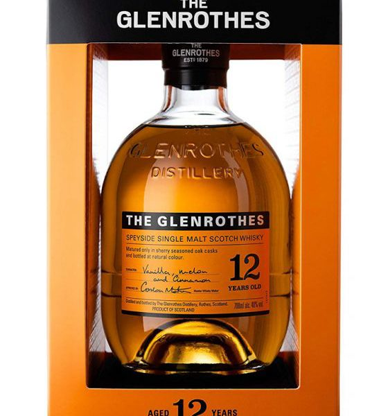 The Glenrothes 12 Years Single Malt Scotch Whisky Fles 70 Cl.