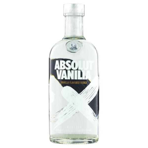 Absolut Vanilia Vodka Fles 70 Cl.