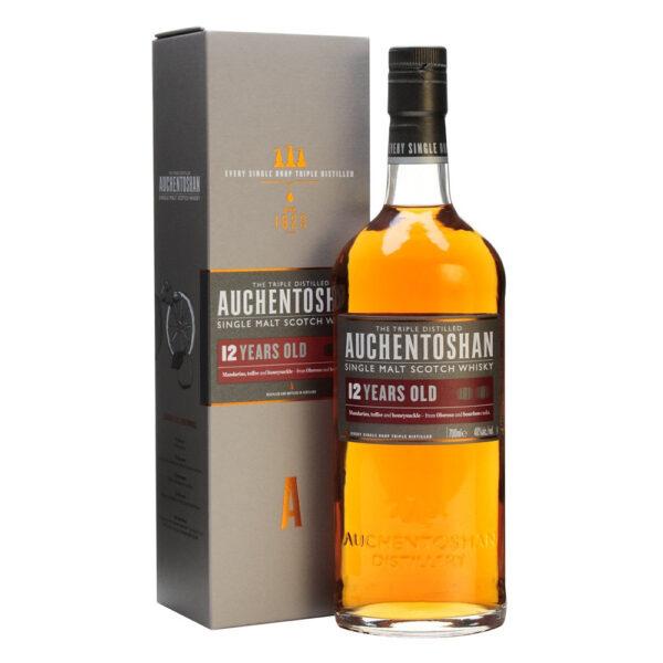 Auchentoshan 12 Years Single Malt Scotch Whisky Fles 70 Cl.