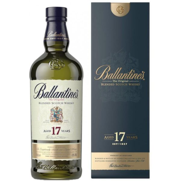 Ballantine's 17 Years Blended Scotch Whisky Fles 70 Cl.