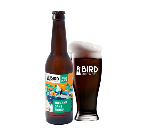 Bird Brrrand Gans Fles 33 Cl.