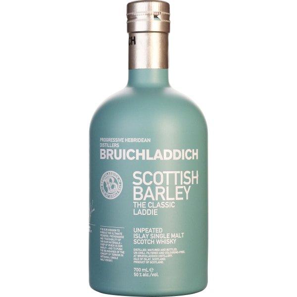 Bruichladdich Scottisch Barley Islay Single Malt Scotch Whisky Fles 70 Cl.