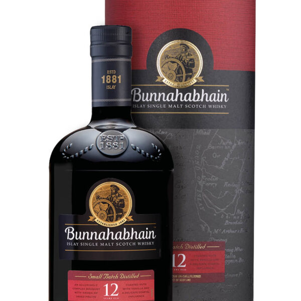 Bunnahabhain 12 Years Islay Single Malt Scotch Whisky Fles 70 Cl.