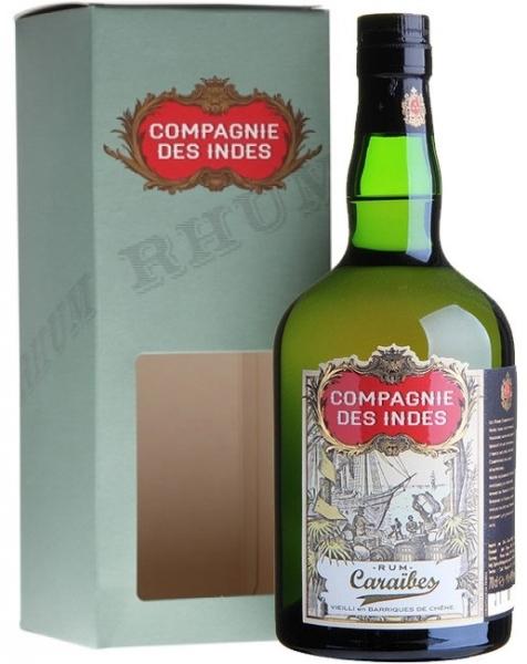 Compagnie Des Indes Caraibes Rum Fles 70 Cl.