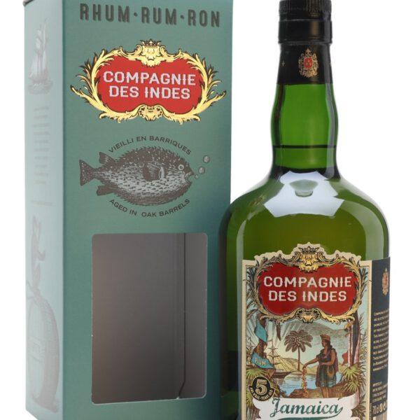 Compagnie Des Indes Jamaica 5 Rum Fles 70 Cl.