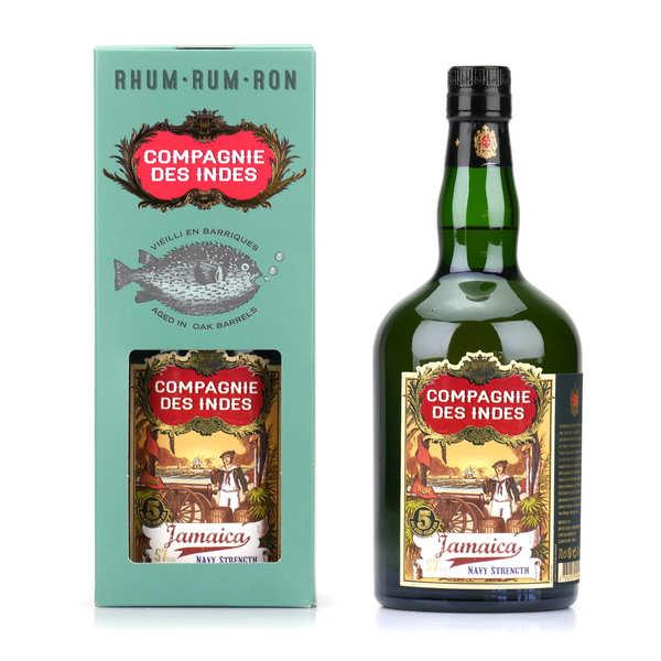 Compagnie Des Indes Jamaica Navy Strength Rum Fles 70 Cl.