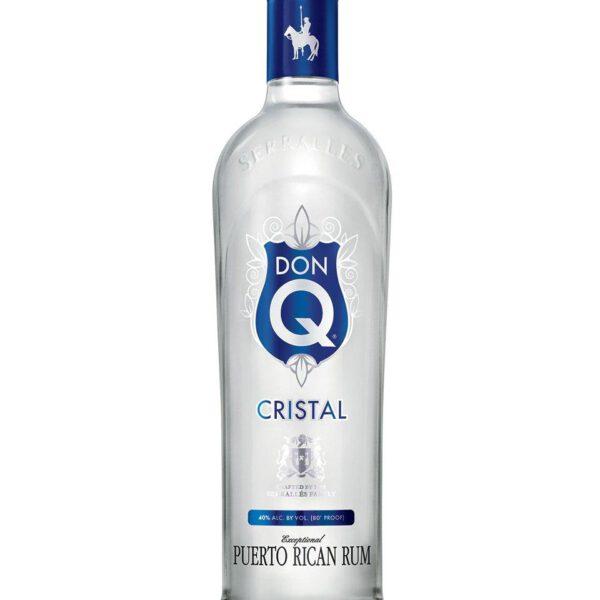 Don Q Cristal Rum Fles 70 Cl.