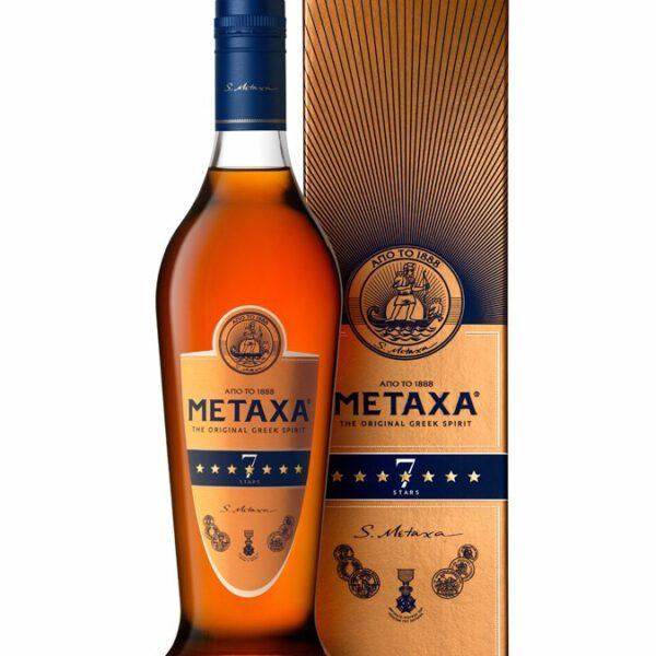 Metaxa Brandy 7 Stars Fles 70 Cl.