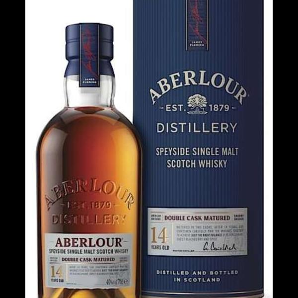 Aberlour 14 Years Doubel Cask Matured Fles 70 Cl.