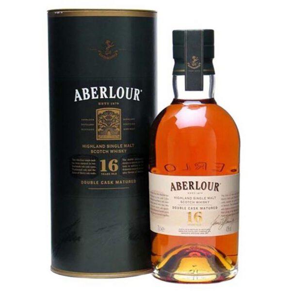 Aberlour 16 Years Speyside Single Malt Scotch Whisky Fles 70 Cl.