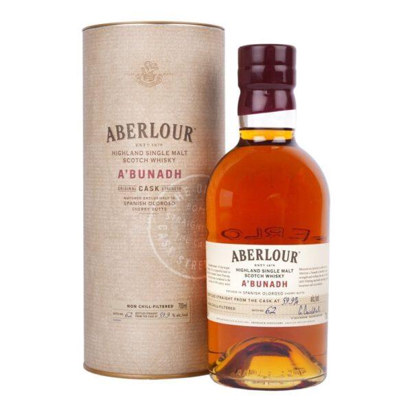 Aberlour A'Bunadh Highland Single Malt Scotch Whisky Fles 70 Cl.