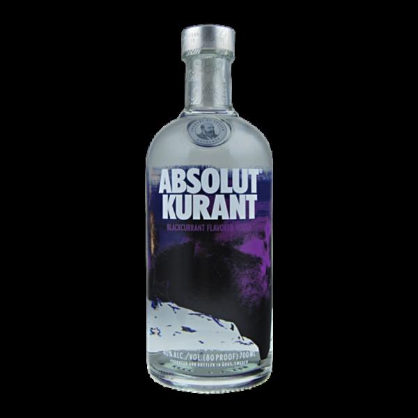 Absolut Kurant Vodka Fles 70 Cl.